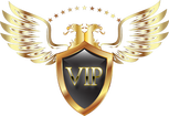 Gold VIP Escort Logo Bottom